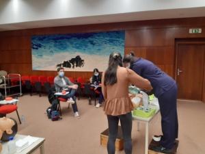 Curso de Suporte Básico de Vida com Desfibrilhação Automática Externa em São Miguel