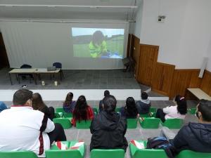 Palestras sobre o 112 e o Centro de Operações de Emergência na EBS Flores