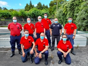 Curso de Salvamento e Desencarceramento para bombeiros no Pico