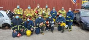 Curso de Recertificação de Salvamento e Desencarceramento para bombeiros na Terceira
