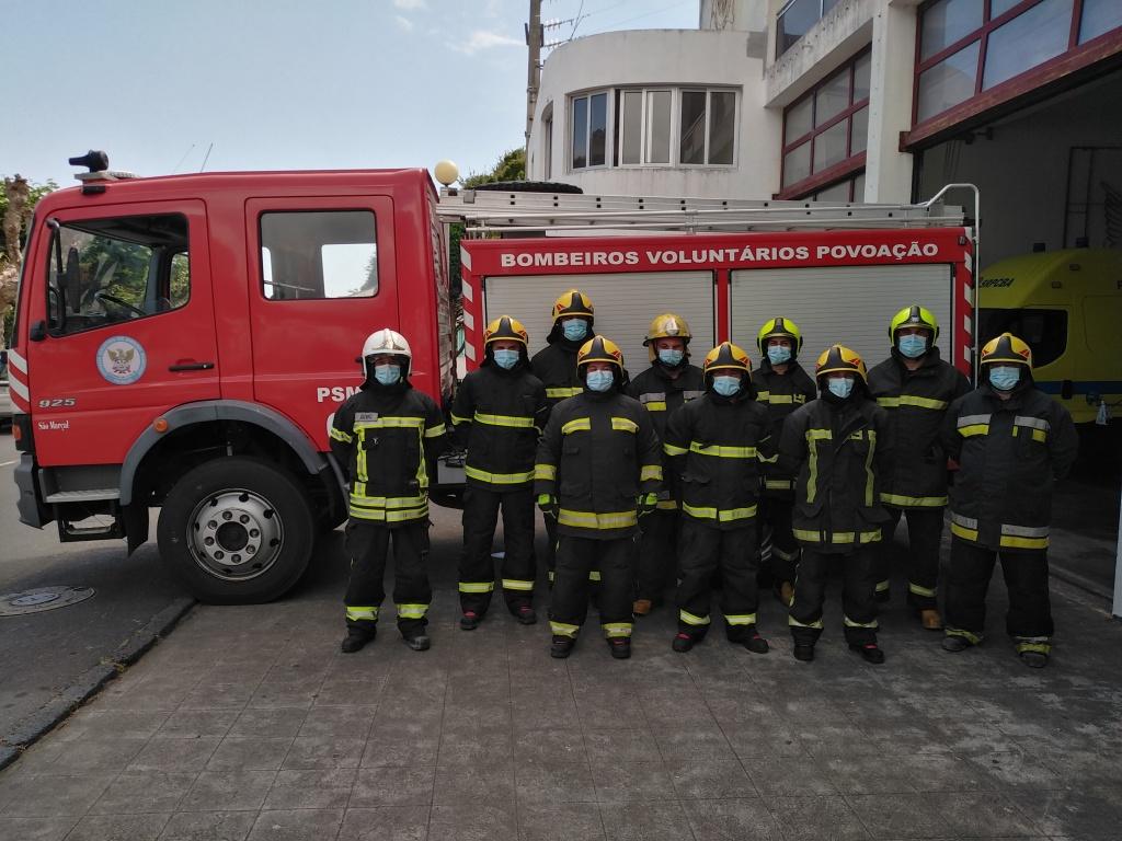 Curso de Recertificação de Salvamento e Desencarceramento para bombeiros em São Miguel