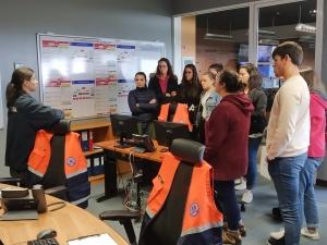 SRPCBA recebe visita de estudo de alunos da ES Jerónimo Emiliano de Andrade