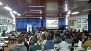 Palestra sobre Riscos Naturais e Medidas de Autoproteção na ES Jerónimo Emiliano de Andrade