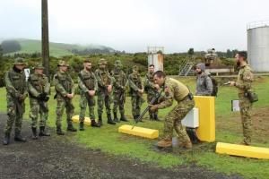CFPCBA recebe militares dos Açores que irão em missão para o Iraque