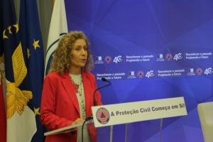 Reorganização da Proteção Civil reforça segurança da população, afirma Teresa Machado Luciano