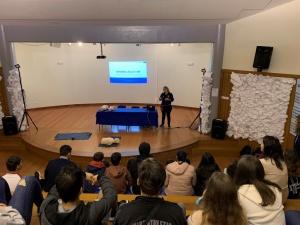 Palestra sobre Primeiros Socorros na EBI Ginetes
