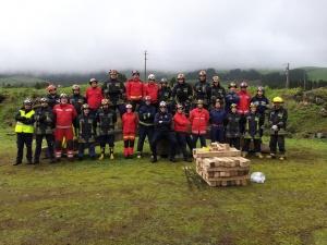Curso Inicial de Intervenção em Estruturas Colapsadas na Terceira