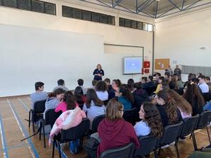 Palestra sobre Primeiros Socorros na ES Antero de Quental