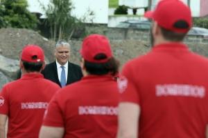 Vasco Cordeiro preside ao arranque das obras do novo quartel dos Bombeiros da Povoação