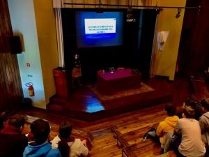 Palestras sobre o 112, o Centro de Operações de Emergência, Riscos Naturais e MAP na ES Laranjeiras