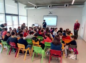 Escolinhas de Primeiros Socorros na EBS Lajes do Pico