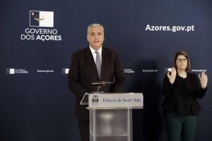 Conferência de Imprensa do Presidente do Governo Regional dos Açores