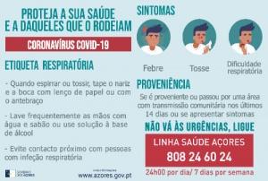 COVID-19: Governo dos Açores alerta para mensagens potencialmente fraudulentas
