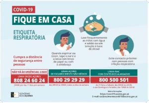 COVID-19: Comunicado da Autoridade Regional de Saúde a 22/04/2020