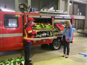 Governo dos Açores renova equipamentos dos Bombeiros Voluntários da Praia da Vitória
