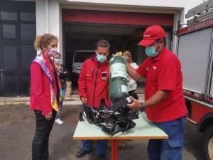 Governo Regional moderniza equipamentos dos Bombeiros Voluntários das Flores e Corvo