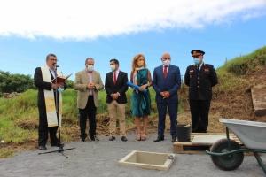 Governo dos Açores assinala início da construção do quartel dos Bombeiros do Faial