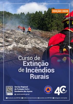 Proteção Civil promove curso de Extinção a Incêndios Rurais (inicial)