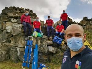Curso de Recertificação de Tripulantes de Ambulância de Socorro na Terceira