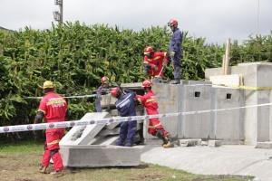 Bombeiros dos Açores com elementos formados no nível Intermédio de Intervenção em Estruturas Colapsadas