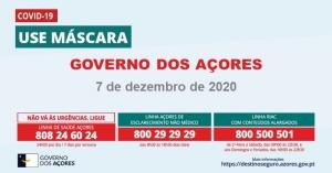 Governo dos Açores determina aplicação da renovação do Estado de Emergência à Região