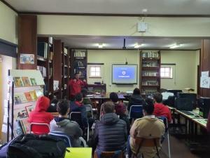 Palestra sobre Suporte Básico de Vida na EBS Mouzinho da Silveira