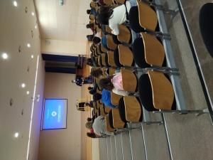 Palestras sobre o 112 e o Centro de Operações de Emergência na EBI Roberto Ivens