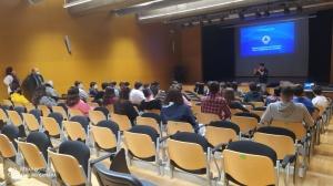 Palestra sobre Suporte Básico de Vida na EBS Velas