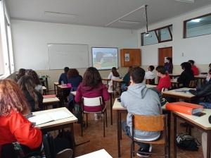 Palestras sobre Suporte Básico de Vida na ES Jerónimo Emiliano de Andrade