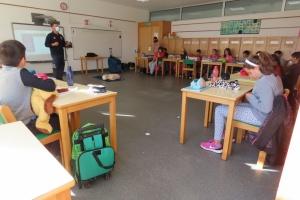 Escolinha de Primeiros na EBS São Roque do Pico