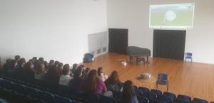 Palestras sobre Suporte Básico de Vida na EBI Horta