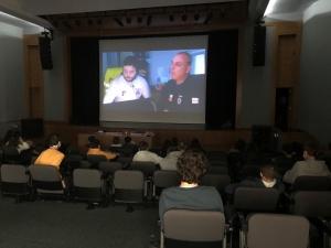Palestra sobre Riscos Naturais e Medidas de Autoproteção na EBS Tomás de Borba