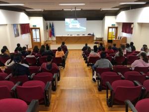 Palestra sobre Riscos Naturais e Medidas de Autoproteção na EBS Madalena