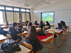 Palestras sobre Riscos Naturais e Medidas de Autoproteção na ES Manuel de Arriaga