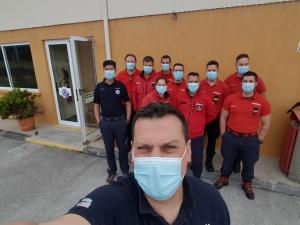 Curso de Recertificação de Tripulantes de Ambulância de Socorro para bombeiros na Terceira
