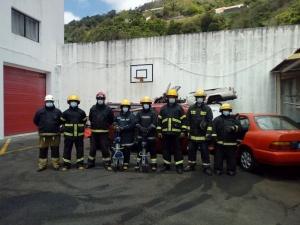 Curso de Salvamento e Desencarceramento para bombeiro em São Jorge