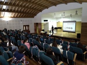 Palestra sobre Suporte Básico de Vida e palestra sobre Riscos Naturais e Medidas de Autoproteção na EBS Graciosa