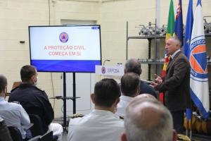 SRPCBA recebe comitiva do Curso de Promoção a Oficial General do Instituto Universitário Militar